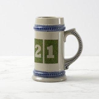 Chope À Bière 21ème Anniversaire Stein
