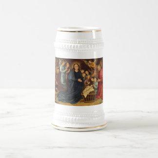 Chope À Bière Adoration des bergers Stein