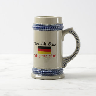 Chope À Bière Allemand fier Oma