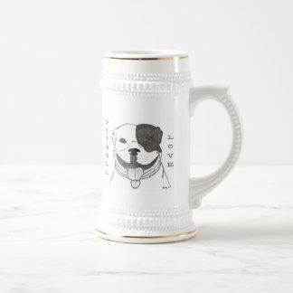 Chope À Bière Amour Stein de Pitbull