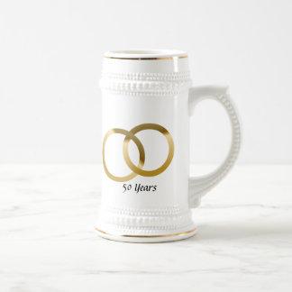 Chope À Bière Anniversaire de mariage