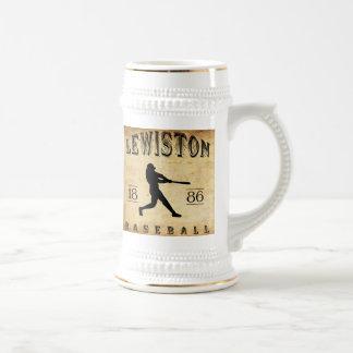 Chope À Bière Base-ball 1886 de Lewiston Pennsylvanie