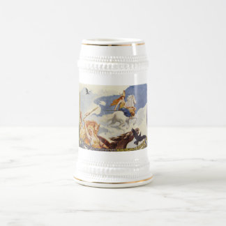 Chope À Bière Beau Valkyries à cheval