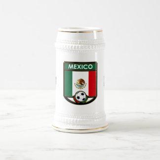 Chope À Bière Boisson Stein du football du Mexique