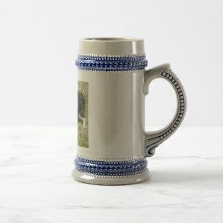 Chope À Bière border collie
