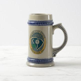 Chope À Bière Brasseurs Stein d'état de Palmetto