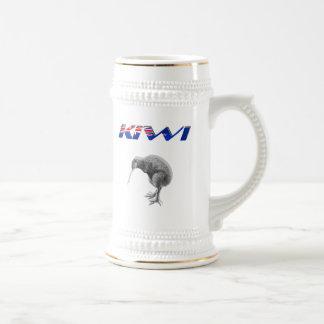 Chope À Bière Cadeaux de logo de drapeau de la Nouvelle Zélande
