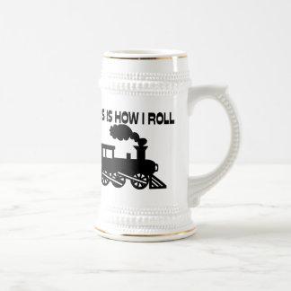 Chope À Bière C'est comment je roule le train