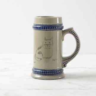Chope À Bière Croquis Stein de Kitty
