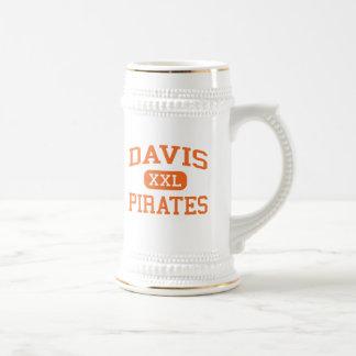 Chope À Bière Davis - pirates - lycée - Yakima Washington