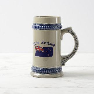 Chope À Bière Drapeau de la Nouvelle Zélande - 1