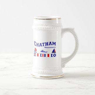 Chope À Bière Drapeau de signal de Chatham