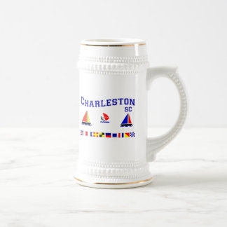 Chope À Bière Drapeaux de signal de Sc de Charleston