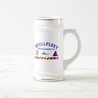 Chope À Bière Drapeaux de signal de Wellfleet mA