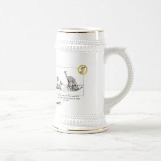 Chope À Bière Éléphant Stein