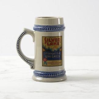 Chope À Bière Étiquette vintage d'art d'alcool de whiskey