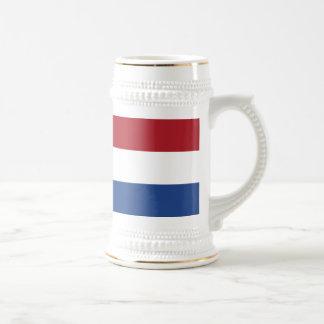Chope À Bière Fourgon Nederland - drapeau de Vlag de Pays-Bas
