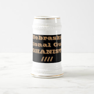 Chope À Bière Garde nationale AFGHANISTAN du Nébraska