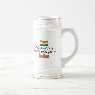 Chope À Bière Indien humble