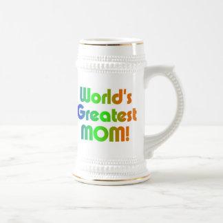 Chope À Bière La plus grande maman du monde