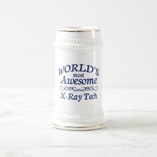 Chope À Bière La technologie du rayon X la plus impressionnante