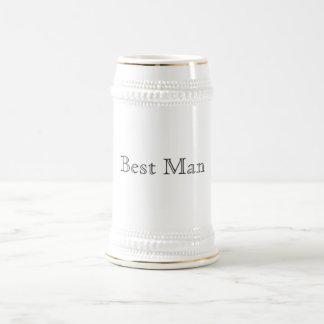 Chope À Bière Le meilleur homme Stein