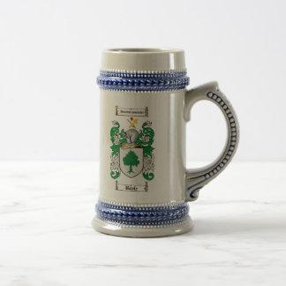 Chope À Bière Manteau de Boyle des bras Stein/de la crête