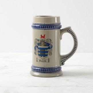Chope À Bière Manteau de Reynolds des bras Stein