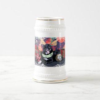 Chope À Bière Noël - franc-tireur - border collie X