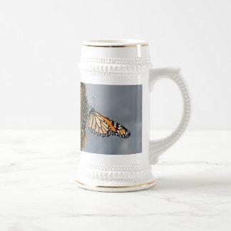 Chope À Bière papillon timide