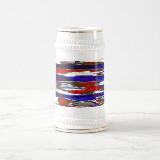 Chope À Bière ~ patriotique Stein