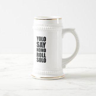 Chope À Bière Petit pain de YOLO solo