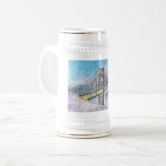 Chope À Bière Pont de baie de San Francisco-Oakland