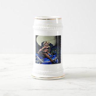 Chope À Bière Poussin de cycliste - Stein