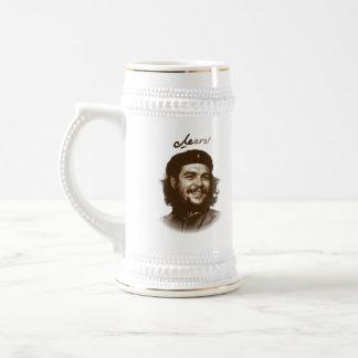 """Chope À Bière Sourire """"acclamations """" de Che Guevara"""