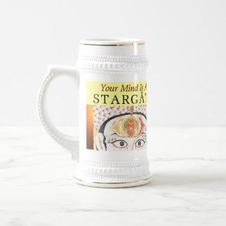 Chope À Bière stein de stargate d'esprit