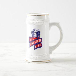 Chope À Bière Toute la bière américaine