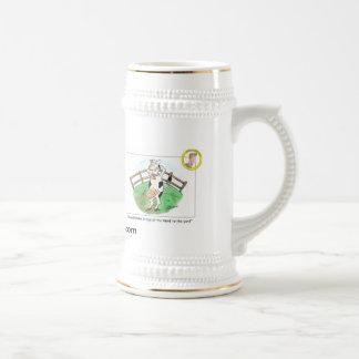 Chope À Bière Vache Stein