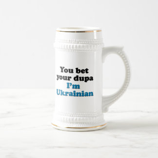 Chope À Bière Vous pariez votre dupa que je suis ukrainien
