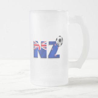 Chope Givrée Drapeau de cadeaux de ballon de football de NZ de