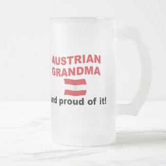 Chope Givrée Grand-maman autrichienne fière