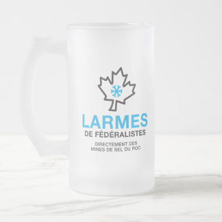 Chope Givrée Humeur Canada de Larmes de Fédéraliste Québec
