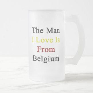 Chope Givrée L'amour de l'homme I est la Belgique
