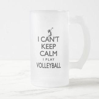 Chope Givrée Ne peut pas garder le volleyball calme