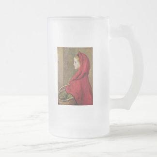 Chope Givrée Peu de capuchon rouge par John Everett Millais
