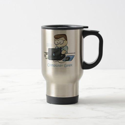 chose de thermos de café de geek d'ordinateur mugs à café