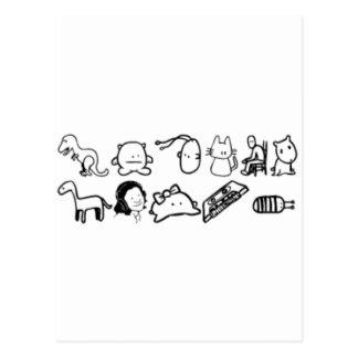 Choses de la planète z -- Le Brothren Carte Postale