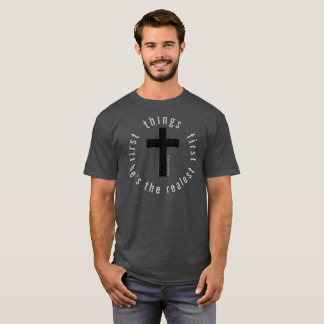 Choses premier 72marketing religieux de Jésus de T-shirt