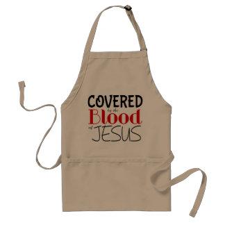 Chrétien COUVERT PAR SANG de tablier de JÉSUS