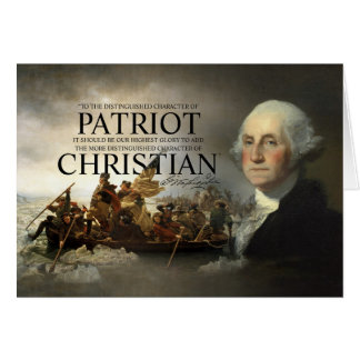 Chrétien de George Washington Carte